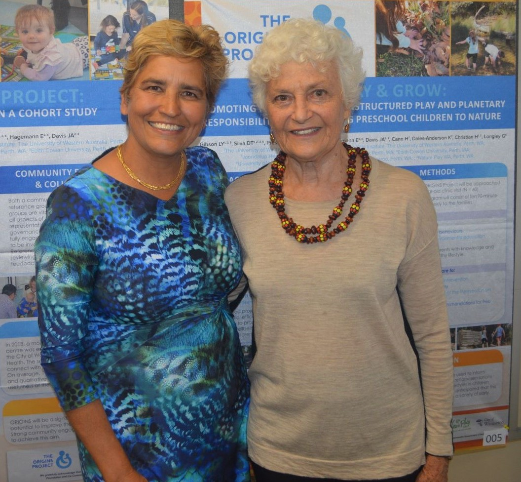 Prof Desiree and Fiona Stanley